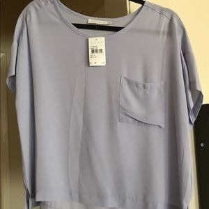 NWT Lush Size Small Short Sleeve Tee in Lavender